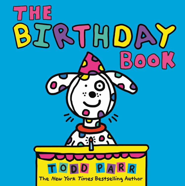 Todd Parr Spotify Playlist - The Birthday Book